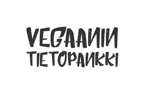 Vegaanin tietopankki
