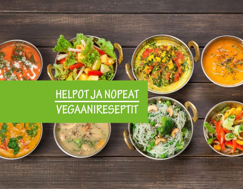 Helppo vegaaniresepti koko perheelle