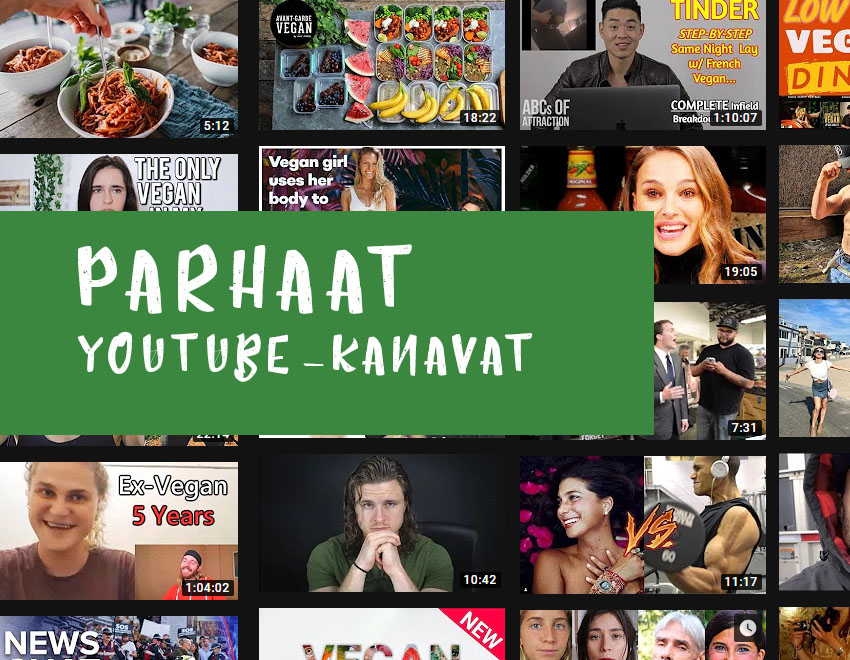 Vegaaniset YouTube-kanavat